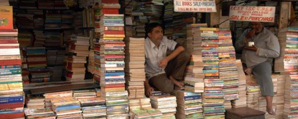 College street book market Kolkata . photos for Pin Code story. photo by Salil Bera
